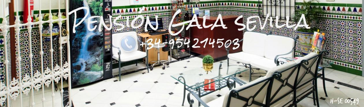 Hostal Gala en Plaza de Armas Sevilla